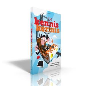 De kenniskermis - Boek 3D - Voorkant